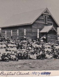 Blenheim Church 1907